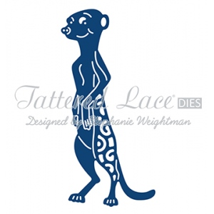 Tattered Lace Die - Meerkat