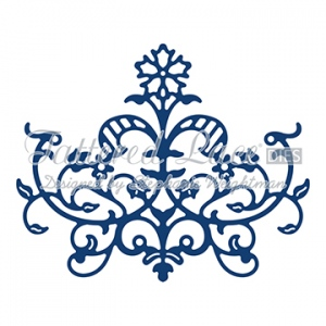 Tattered Lace Die - Baroque Flourish