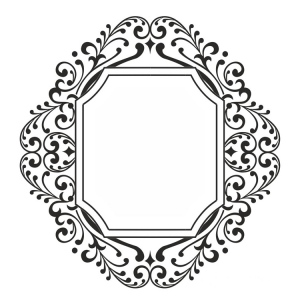 Creative Expressions Fretwork Frame Stamp