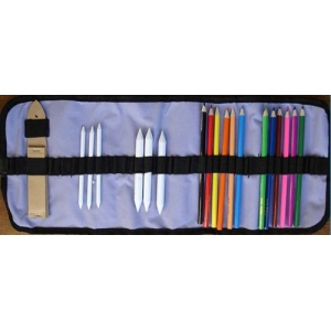 Tool and Pencil Case by Nellie Snellen