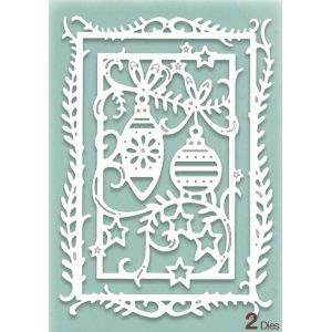 Creative Expressions Die Paper Cuts Collection - Festive Baubles