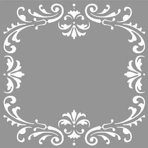 Creative Expressions Mask - Ornate Frame