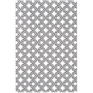 Creative Expressions  Embossing Folder A4 Size - Daisy Tiers