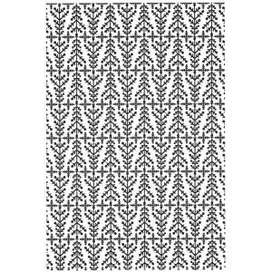 Creative Expressions Embossing folder A4 size - Nordic Trees