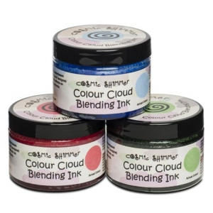 Cosmic Shimmer Colour Cloud: Chic Grey Blue