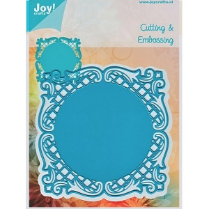 Ecstasy Crafts Joy! Crafts Dies - Lacey Square Frame