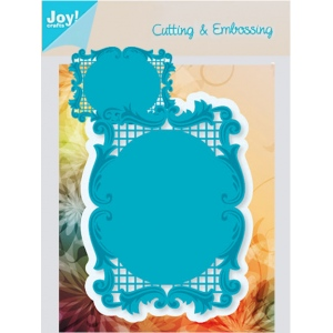 Joy! Crafts Dies - Lacey Rectangle Frame