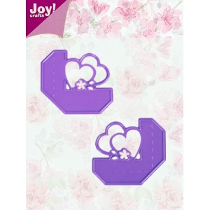 Joy! Crafts Dies - 2 Heart Corners