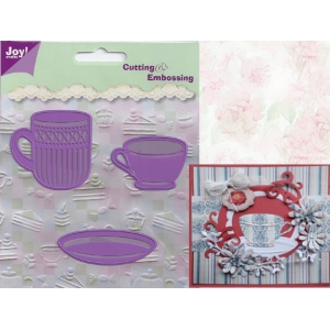 Joy! Crafts Dies - Mug, Cup & Saucer