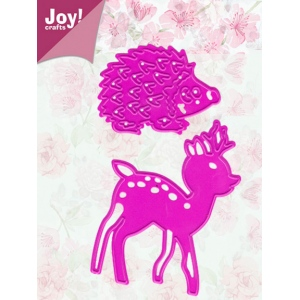Ecstasy Crafts Joy! Crafts Dies - Deer And Hedge Hog
