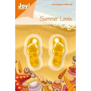Ecstasy Crafts Joy! Crafts Dies - Summer Lovin Flip Flops
