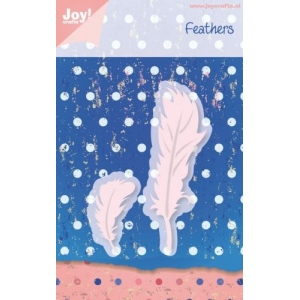 Joy! Crafts Cutting & Embossing Die - Two Feathers 2