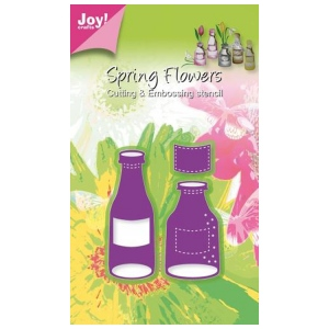 Joy! Crafts Cutting and Embossing die - Bottles (2)