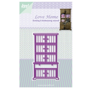Joy! Crafts Dies - Love Home - Cupboard