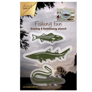 Ecstasy Crafts Joy! Crafts Dies - Fishing Fun - Fish-Shark