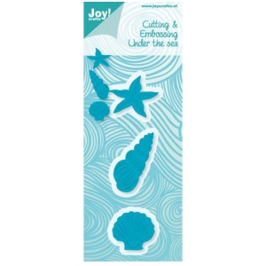 Joy! Crafts Cutting-embossing Die shell - Starfish - conch