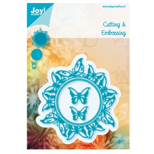 Joy! Crafts Dies - Round Butterfly