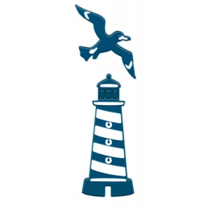 Joy! Crafts Cutting & Embossing Die - (2pcs) Lighthouse/Seagull