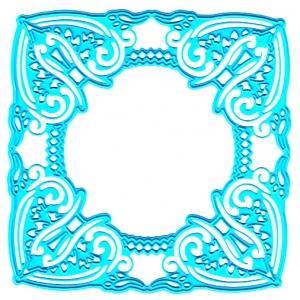 Ecstasy Crafts Joy! Crafts Cutting & Embossing Die - Square Frame