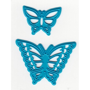 Cutting and Embossing die - butterflies (2pcs)