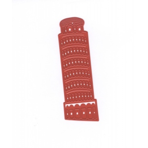 Cutting- Embossing- Debossing die - Tower of Pisa