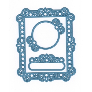 Joy Crafts Cut-Embos die -Deco rectangle + frames