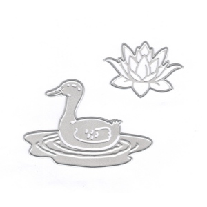 Joy Crafts Cut/Emboss/Deboss Die - Duck & Waterlily