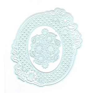 Ecstasy Crafts Joy Crafts Cut & Emboss Die - Endless Flower Oval
