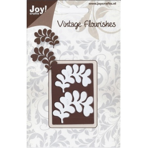 Joy! Crafts Vintage Flourish Dies - Leaves