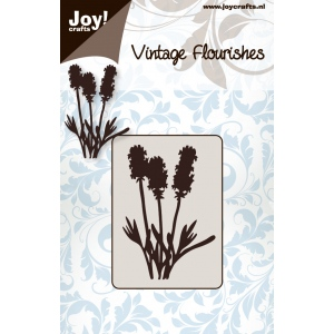 Joy! Crafts Dies - Vintage Flourish - Cutting Flowers