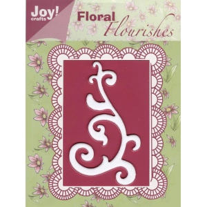 Ecstasy Crafts Joy! Crafts Dies - Floral Flourishes - Swirl #1