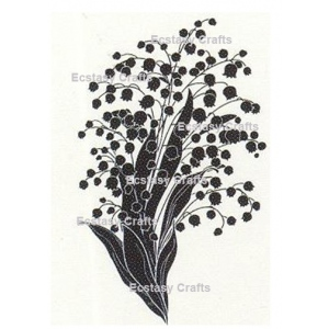 Ecstasy Crafts Silhouette Flowers -Lily Of The Valley
