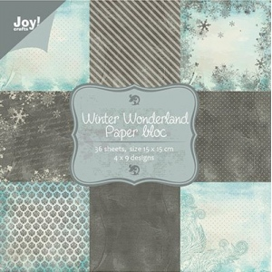 Paper Bloc A5 - Winter Wonderland