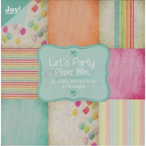 Paper Block - Let's Party