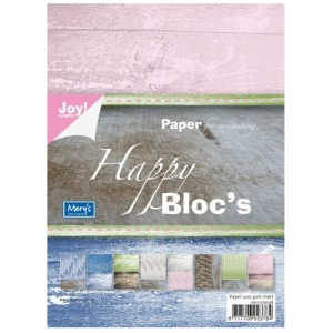 Ecstasy Crafts Joy! Crafts Paper Bloc - Happy Bloc