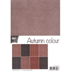 Joy Crafts Paper pack - Autumn colour