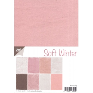 Joy Crafts Paper - Soft Winter Colors
