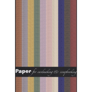 Joy Craft Paper - 10 sheet assorted pastel checker patterned