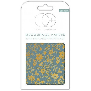 Creative Expressions Vintage Floral Decoupage Papers