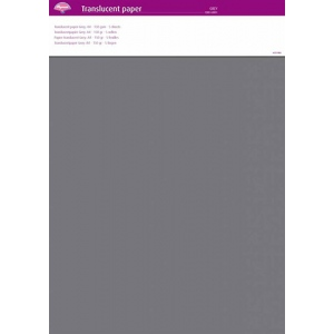 Parchment Paper - Grey (5 Sheets)