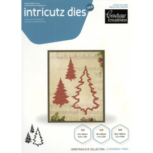 Cutting Dies - Evergreen Trees 3pcs