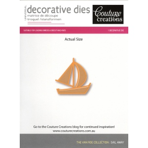 Couture Creations Die - Sail Away