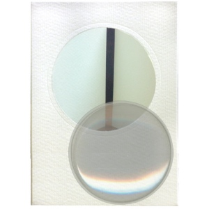 Dome Cards and Envelope pkg - Round White
