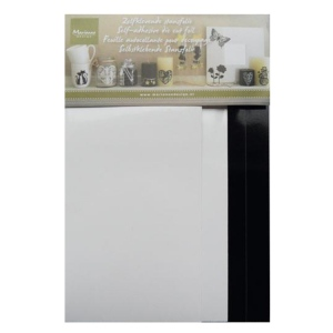 Marianne Design Die-Cut Foil: Black/white (2X2 Designs)