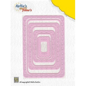 Multi Frame Dies - Rectangle (set of 7)