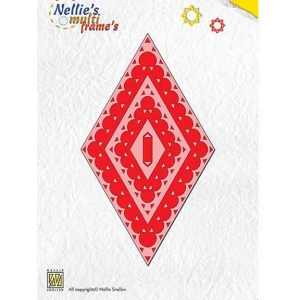 Nellie's Choice Multi Frame Dies - Diamond