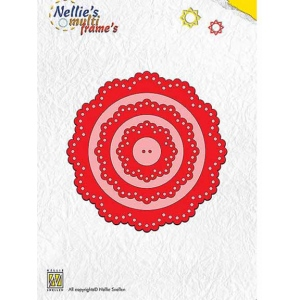 Nellie's Choice Multi Frame Dies - Flower
