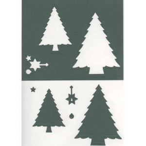 Nellie's Choice Multi Frame Dies - Christmas Tree
