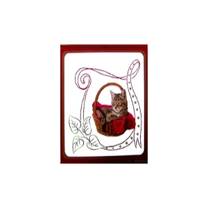 Karin's Creations Embroidery Patterns Kc Embroidery Pattern - Ribbon Frame