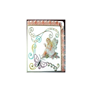 Karin's Creations Embroidery Patterns Kc Embroidery Pattern - Fairy